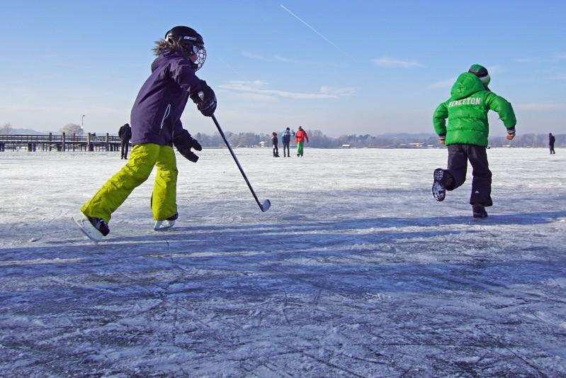 Winter am Chiemsee - Gasthof Alter Wirt