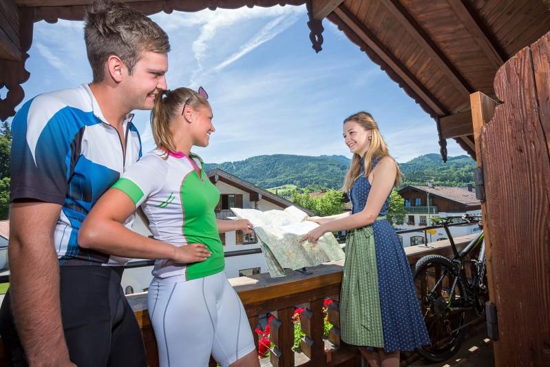 Zimmer mit Bergblick - Gasthof Alter Wirt Bernau