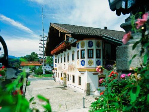 Sommer Gasthof Alter Wirt Bernau am Chiemsee