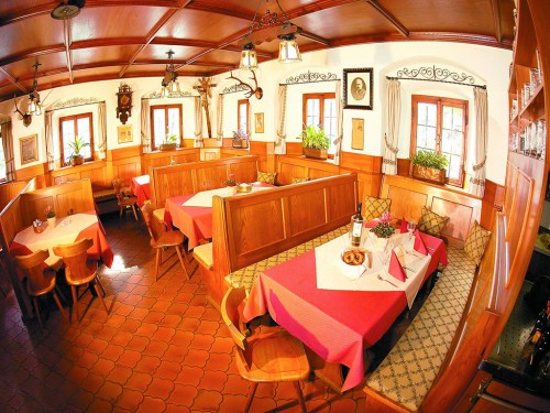 Speisesaal Gasthof Alter Wirt Bernau am Chiemsee