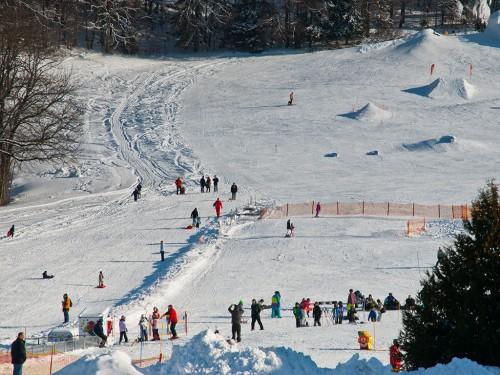 Ski Alpin Übungslift im Chiemgau